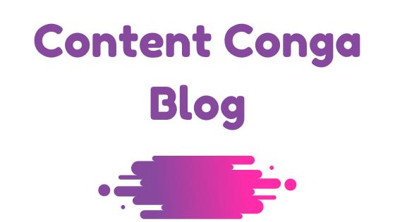 Content Conga Blog